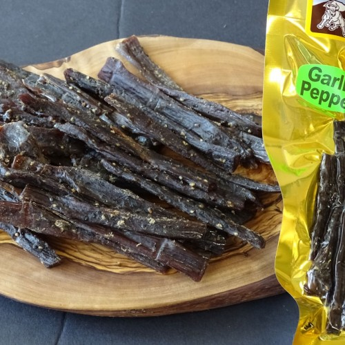 Garlic-Pepper-Beef-Jerky