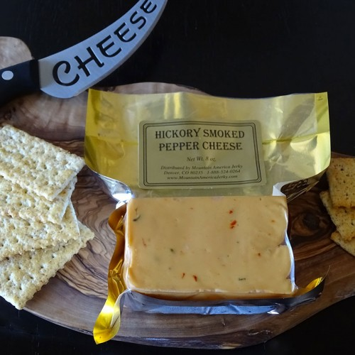 Hickory Smoked Pepper Cheese